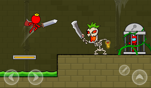 Red Stickman : Animation vs Stickman Fighting android2mod screenshots 24