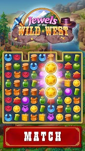 Jewels of the Wild West: Match-3 Gems Game 1