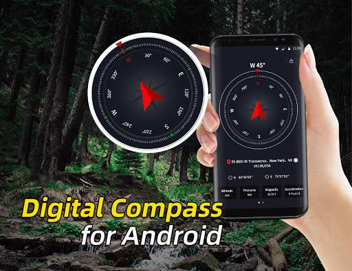 Portable GPS Compass & Bubble Level modavailable screenshots 3