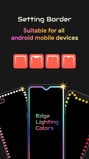 Edge Lighting Colors - Round Colors Galaxy  Screenshots 5
