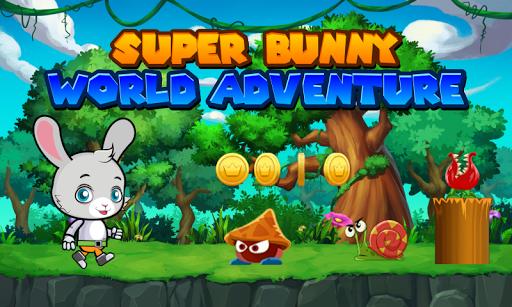 super bunny world adventure screenshot 1