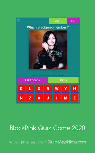 BlackPink Quiz Game 2020 8.3.1z Screenshots 14