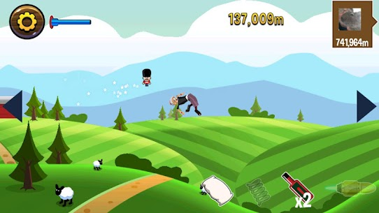 Angry Gran Toss 1.2.6 APK Mod for Android 3