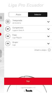 LigaPro Ecuador 1.0.7 Screenshots 8