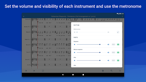 MuseScore: view and play sheet music android2mod screenshots 15