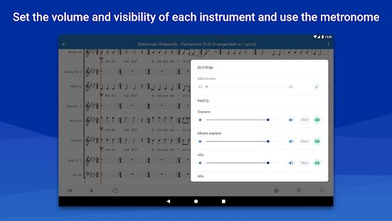 MuseScore: view and play sheet music 2.9.02 Screenshots 15
