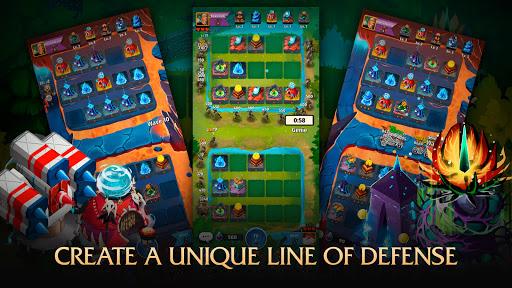 Random Clash - Epic fantasy strategy mobile games apkslow screenshots 14
