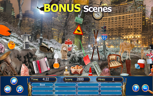 Hidden Objects New York City Puzzle Object Game  screenshots 7