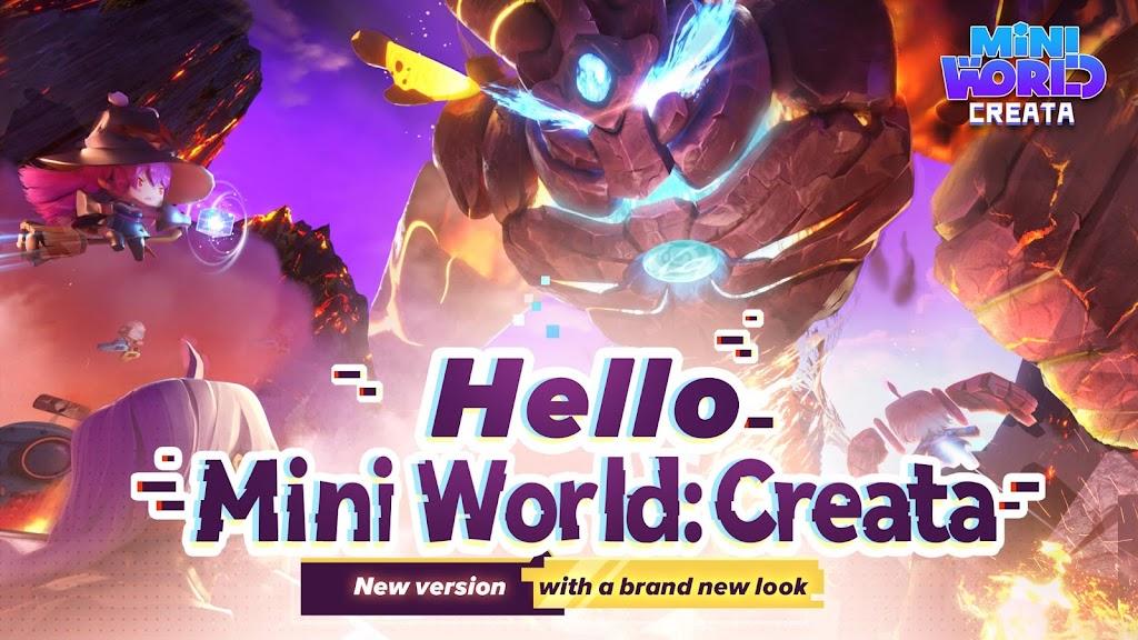 Mini World: CREATA poster 1