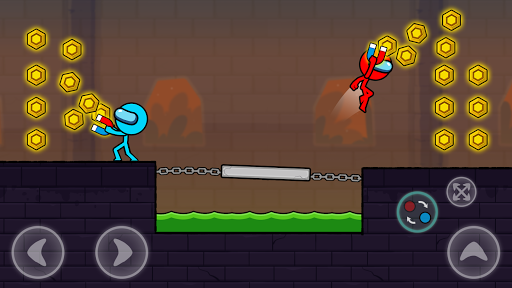 Red and Blue Stickman : Season 2 android2mod screenshots 8