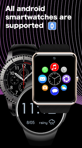 SmartWatch sync app for android&Bluetooth notifier  Screenshots 18