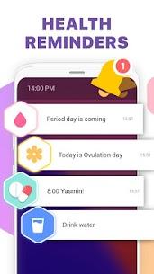 Urmărire menstruaţie -Calendar ovulaţie şi sarcină 4