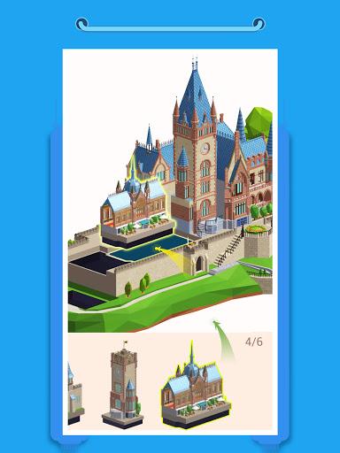 Pocket World 3D - Assemble models unique puzzle 1.8.9 Screenshots 12