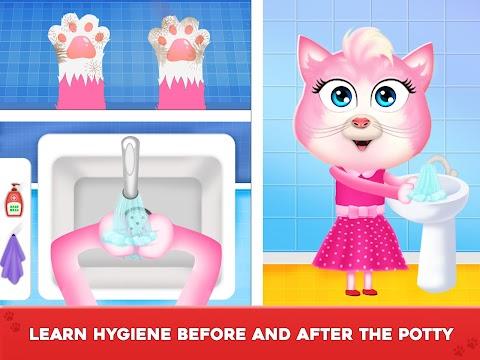 Baby's Potty Training - Toilet Time Simulatorのおすすめ画像3
