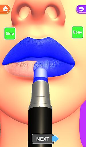 Lips Done! Satisfying 3D Lip Art ASMR Game apkmr screenshots 14