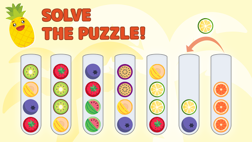 Sort Color Balls - puzzle game  screenshots 12