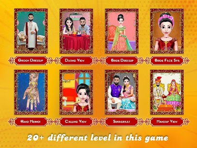 New Indian Wedding Makeup Dressup Game 2020 1.0.8 Download Mod Apk 3