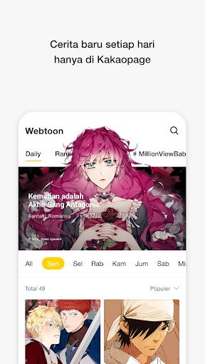 kakaopage - Webtoon Original 3.4.6 Screenshots 6