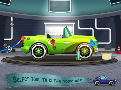 Kids Car Wash Service Auto Workshop Garage 2.1 screenshots 1