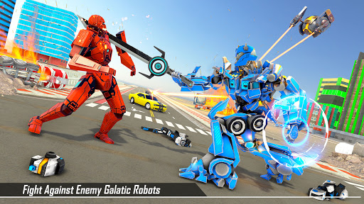 Bus Robot Transform Ball Game APK MOD Download 1