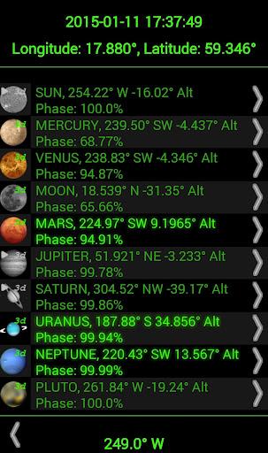 Planet Finder screenshot 7