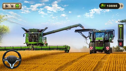 Code Triche Real Farming Tractor Farm Simulator: Tractor Games APK MOD (Astuce) screenshots 2