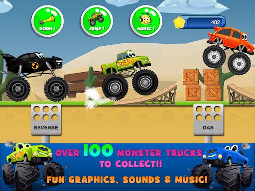 Monster Trucks Game for Kids 2  screenshots 8