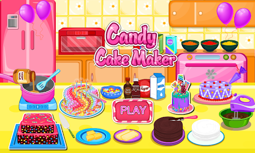 Candy Cake Maker 8.641 screenshots 1