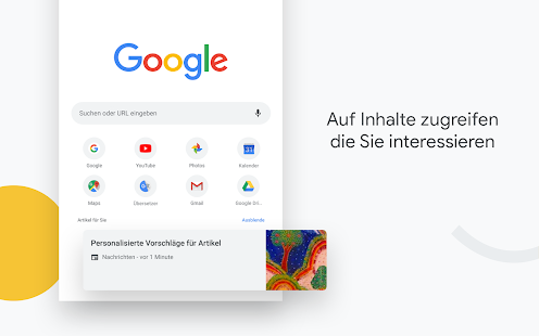 Google Chrome: Sicher surfen Screenshot