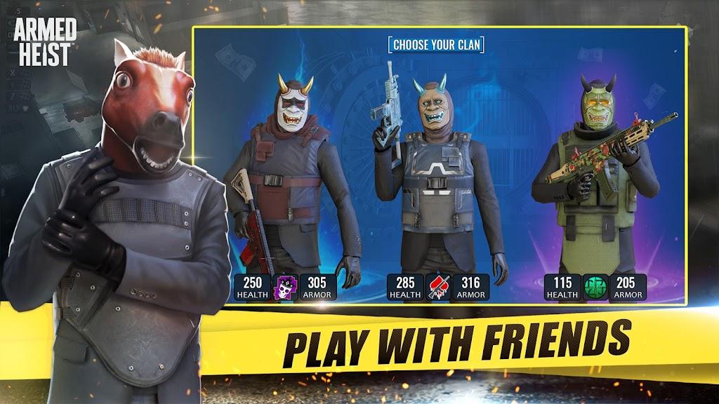 Armed Heist: TPS 3D Sniper shooting gun games  poster 1