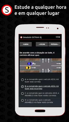 Simulado DETRAN RJ apktram screenshots 1