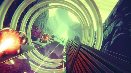 Schermata di Super Glitch Dash