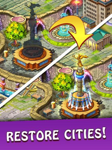 Magica Travel Agency: Match 3 Games, Jigsaw Puzzle  screenshots 15