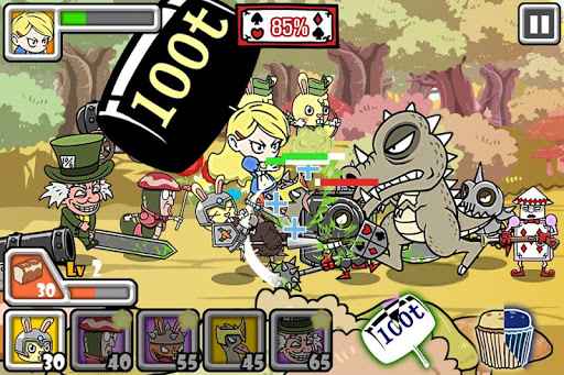 Bloody Alice Defense Apkfinish screenshots 11