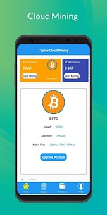 Bitcoin Mining 2021 – Cloud Mining BTC Wallet For Androiid 3
