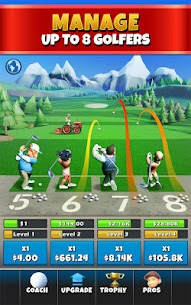 Idle Golf Tycoon MOD (Free Upgrades) 1
