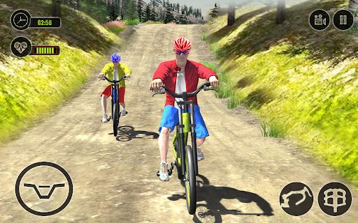 Offroad BMX Rider: Mountain Bike Game Apkfinish screenshots 8