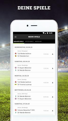 FUSSBALL.DE 6.101.1 Screenshots 3