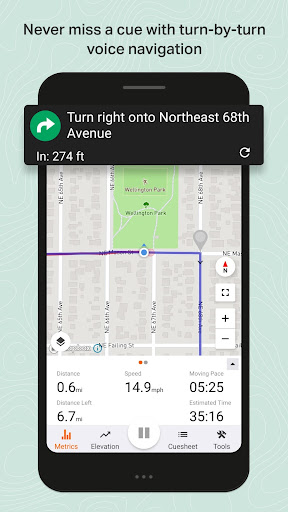 Ride with GPS - Bike Route Planning and Navigation modavailable screenshots 2
