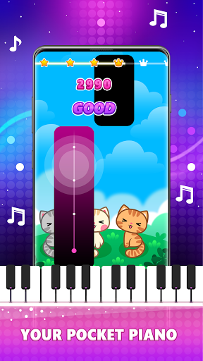 Magic Pink Tiles: Piano Game Apkfinish screenshots 8