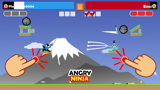Jumping Ninja Party 2 Mod Apk 4.1.3 (Unlimited Coins) 4