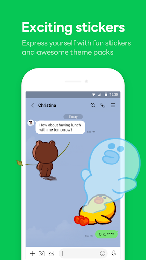 LINE: Free Calls & Messages 11.2.6 screenshots 2