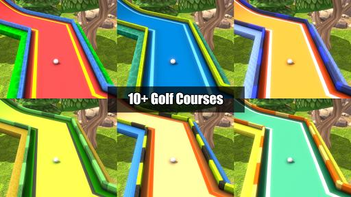 Mini Golf Rivals - Cartoon Forest Golf Stars Clash  screenshots 13