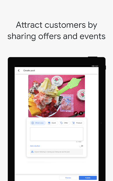 Google My Business - Connect with your Customers screenshot 11
