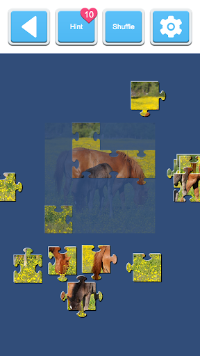 Jigsaw Horses 2.0 screenshots 3