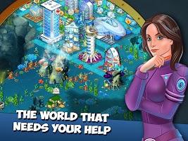 Aquapolis. Free city building!