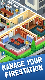 Idle Firefighter Tycoon – Fire Emergency Manager Mod Apk 1.23 (Unlimited Money/Diamonds) 3