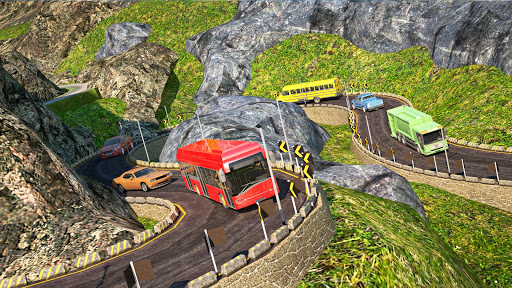 US Bus Hero: Off road Mountain Tourist Bus Drive  screenshots 7