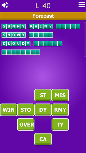 Word games collection - All in one  screenshots 3