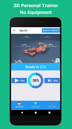 Six Pack in 30 Days - Abs Workout 1.5.0 Screenshots 6